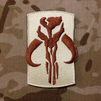 Mandalorian Warrior Morale Patch - Always Outnumbered Morale Patches