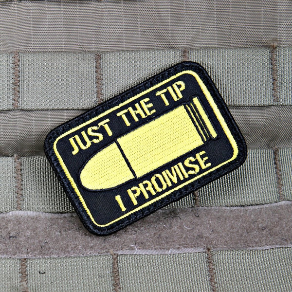 Just the Tip Morale Patch - Always Outnumbered Morale Patches