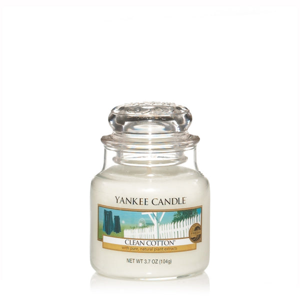 Clean Cotton Yankee Small Candle Jar