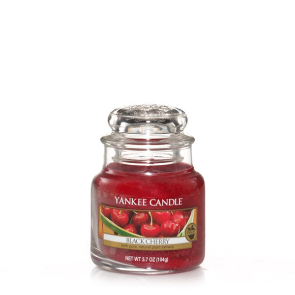 Black Cherry Yankee Small Candle Jar
