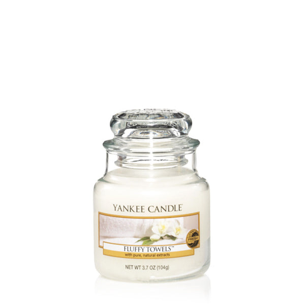 Fluffy Towels Yankee Small Candle Jar