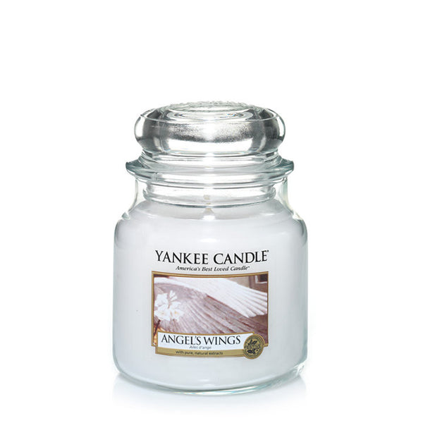 Angel's Wings Yankee Medium Jar
