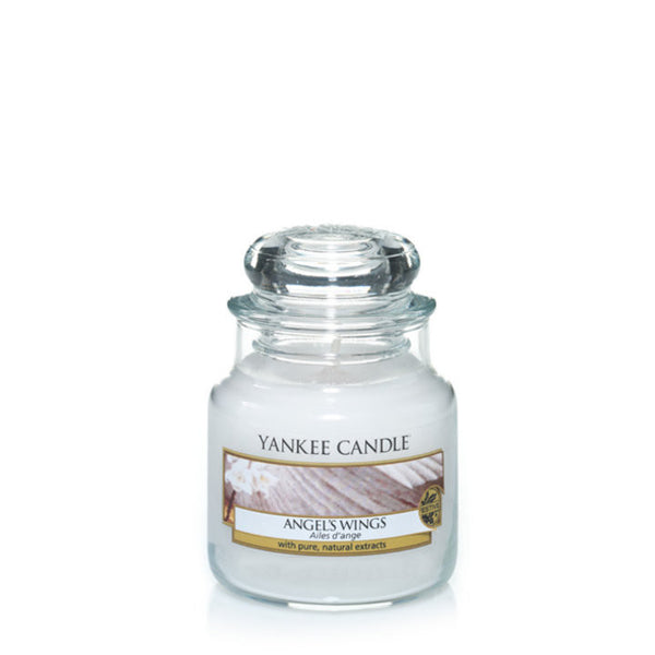 Angel's Wings Yankee Small Candle Jar