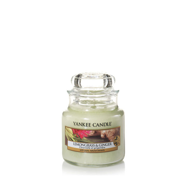 Lemongrass &Ginger Small Yankee Candle Jar