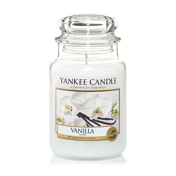 Vanilla Large Yankee Candle Jar