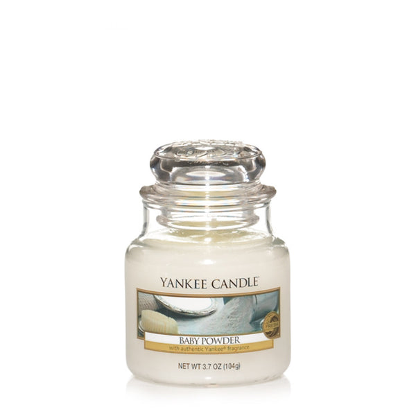 Baby Powder Yankee Small Candle Jar
