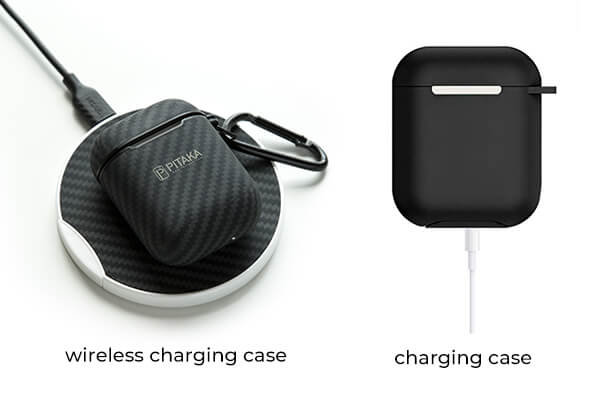 AirPods, wireless charging case