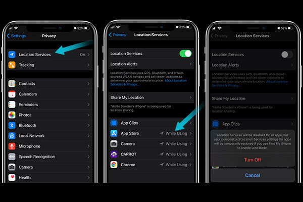 Change your location service settings to stop your iphone battery from draining fast