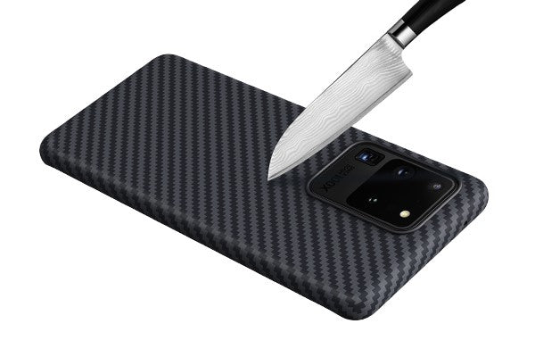 PITAKA S20 aramid case is scratch resistant