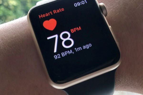 check your heart rate with Apple Watch