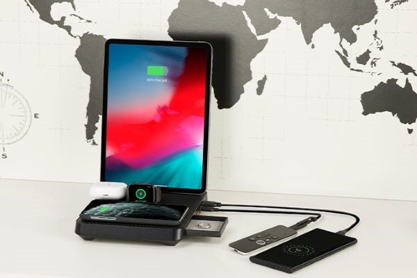 6-in-1 charger the most powerful charging station