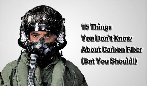 15 things you don't know about carbon fiber