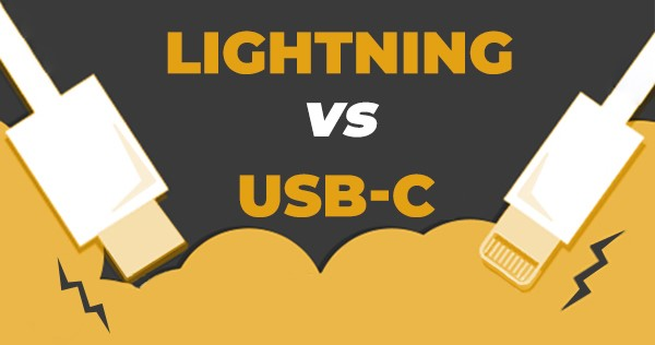 USB-C vs Lightning comparison