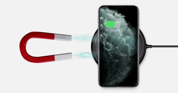 do magnets affect wireless charging your phone