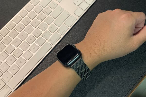 Pitaka carbon fiber watch band
