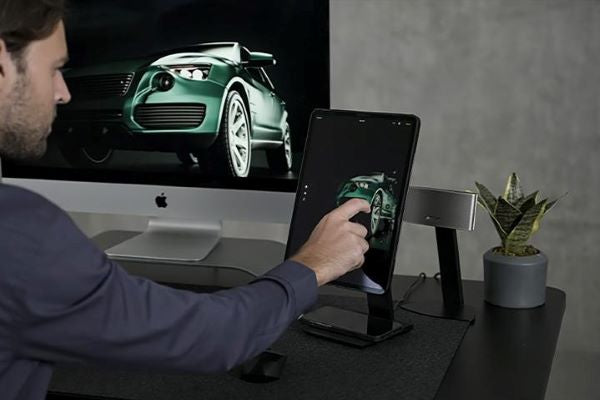 A tablet stand to turn your iPad Pro into a second screen
