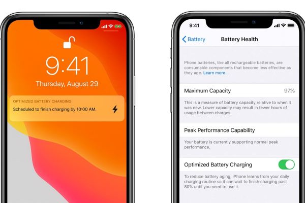 iPhone stops charging at 80% when optimized battery charging is turned on