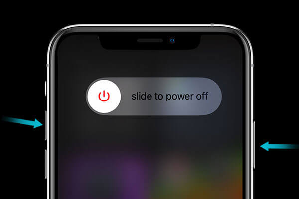 Restart your iphone 12 to keep your iphone battery draining fast