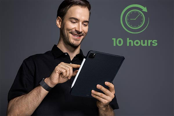 How long can the ipad and ipad pro battery last?