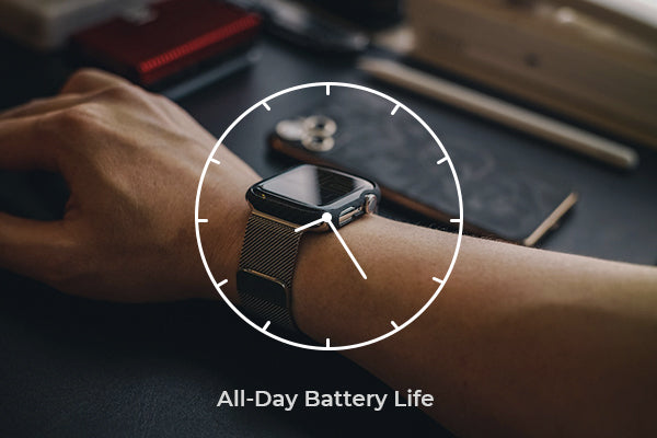 how long can the Apple Watch battery last