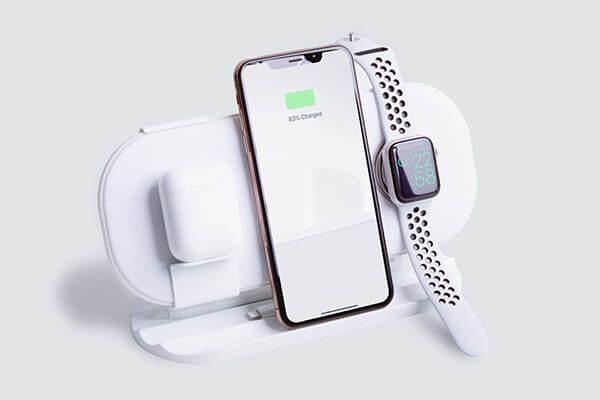 wireless charger for AirPods and iPhone