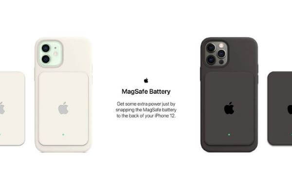 Apple Smart Battery Case for iPhone 12, magnetic power pack for iPhone 12
