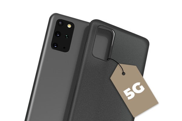 phone case with a 5G tag