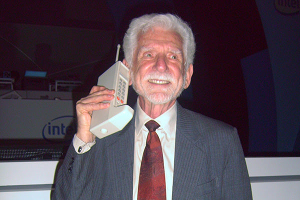 the first official cell phone from Motorola