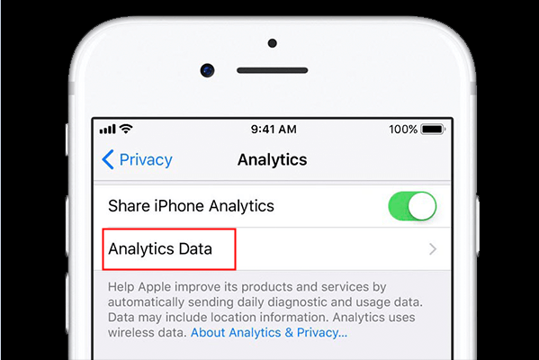 Analyze and remove the faulty apps if your iPhone keeps restarting