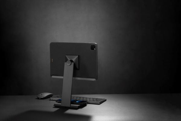 PITAKA magnetic stand for tablets and iPad to improve productivity