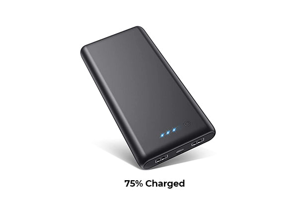 don't fully charge your power bank