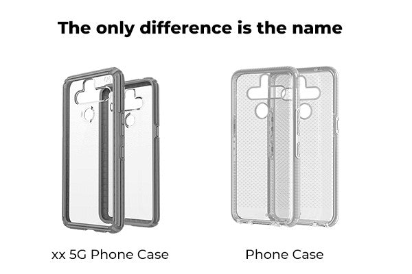 difference between 5G cases and regular cases