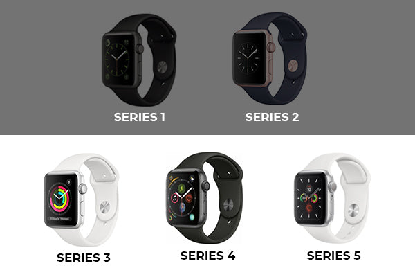 Discontinued Apple Watch Series 1 and 2, Series 3 and 5 on sale