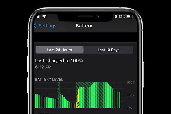 A bad charge might be causing your iphone battery to drain fast