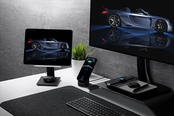 Accelerate your efficiency with dual screens