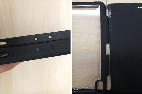 PITAKA magnetic iPad Pro case is much thinner than other iPad Pro cases