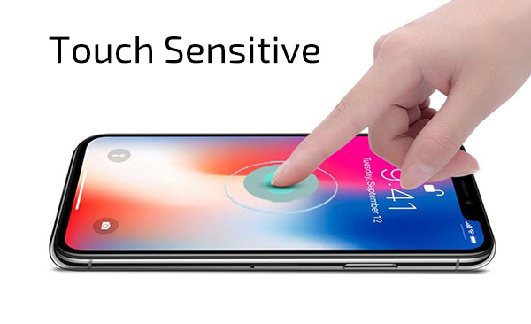 Touch sensitivity