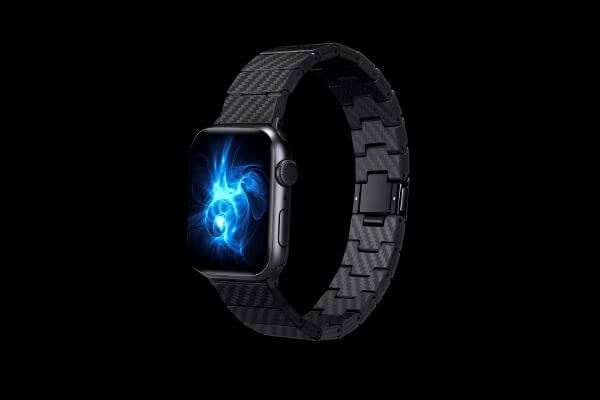 carbon fiber Apple Watch band, a fashion wearable device