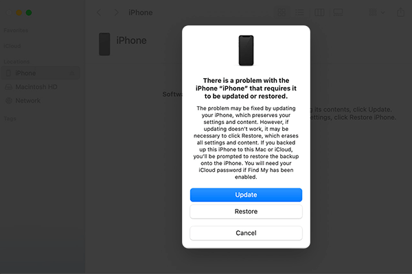 Restore your iPhone if it keeps rebooting