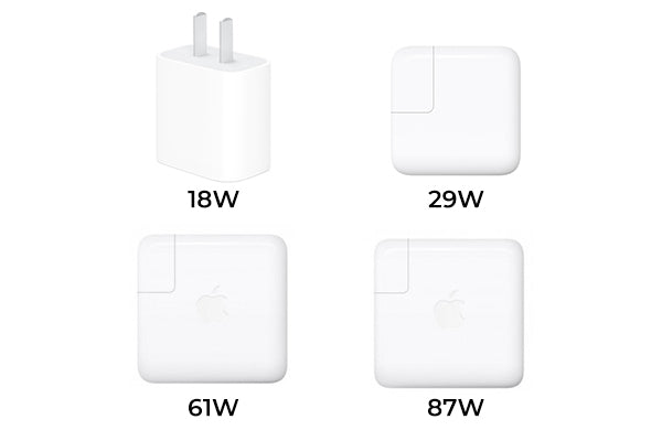 Apple chargers that can be used to fast charge iPhone
