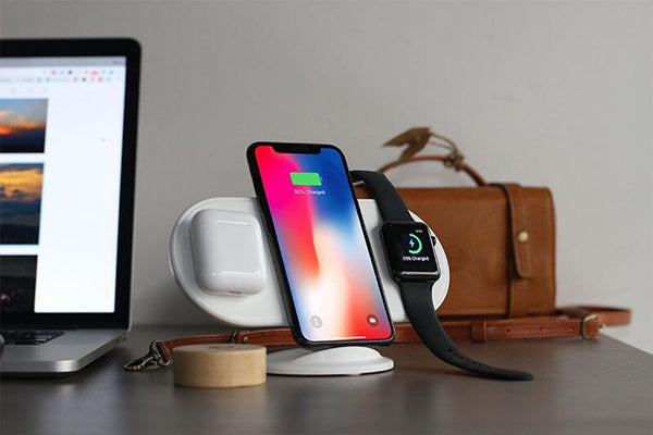 Airpower with a simple holder