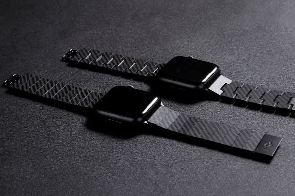 Carbon fiber Apple Watch band