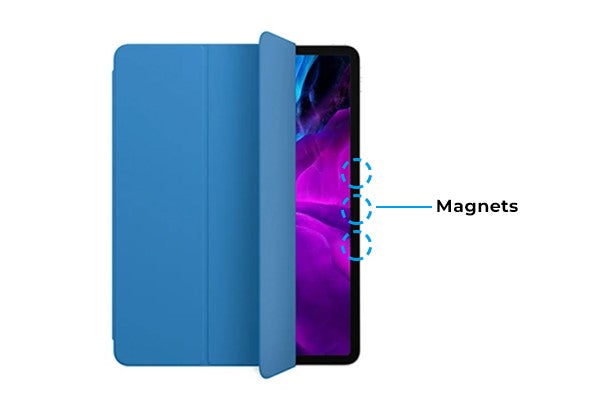 magnetic iPad smart cover
