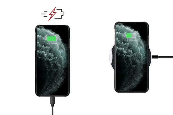 wireless charging is slower than wired charging