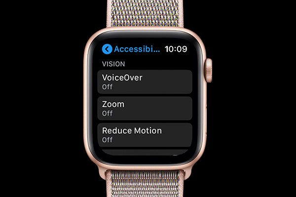 turn on Reduce Motion to save Apple Watch battery life