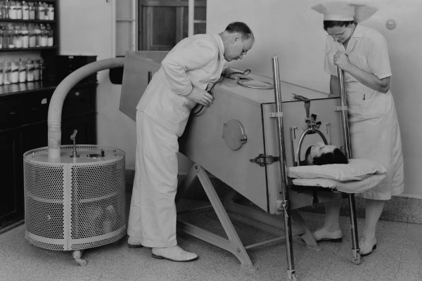 how technology has changed our healthcare - invention of iron lung