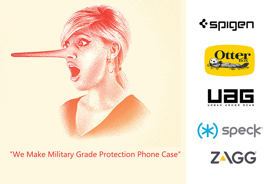 we make military grade protection phone case