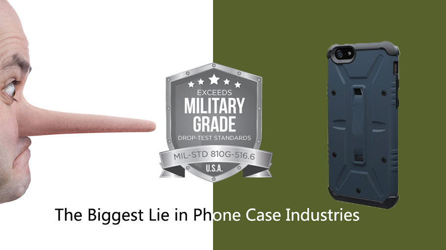 military grade protection phone case is a lie