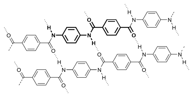 the molecular structure of aramid