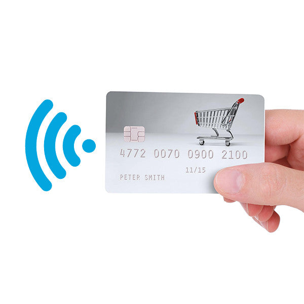 RFID-chip-based credit card